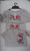 Детское платье с вышивкой от производителя