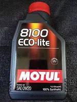 Масло моторное 0W20 8100 ECO-lite (1л)