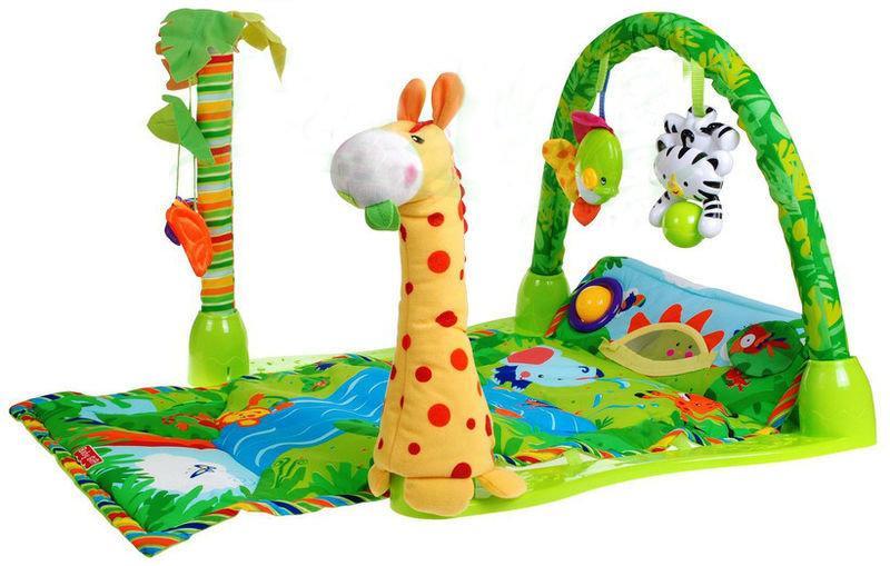 Коврик для малышей 3059 Тропический лес