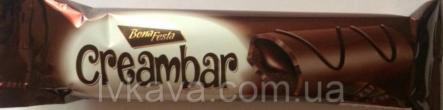 Бисквит Simsek Bona Festa Creambar  с шоколадным кремом , 50 гр, фото 2