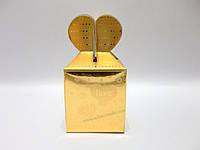"""Подарочная коробка """"Сердца на золоте"""""""