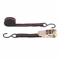 Ремінь багажний з крюками, 5 м, храповий механізм Automatic SPARTA 543385
