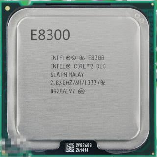 Процессор Intel Core2Duo E8300 2x2.83GHz LGA775