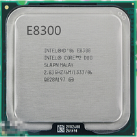 Процессор Intel Core2Duo E8300 2x2.83GHz LGA775