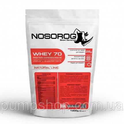 Сывороточный протеин Nosorog Whey 1000 г, фото 2