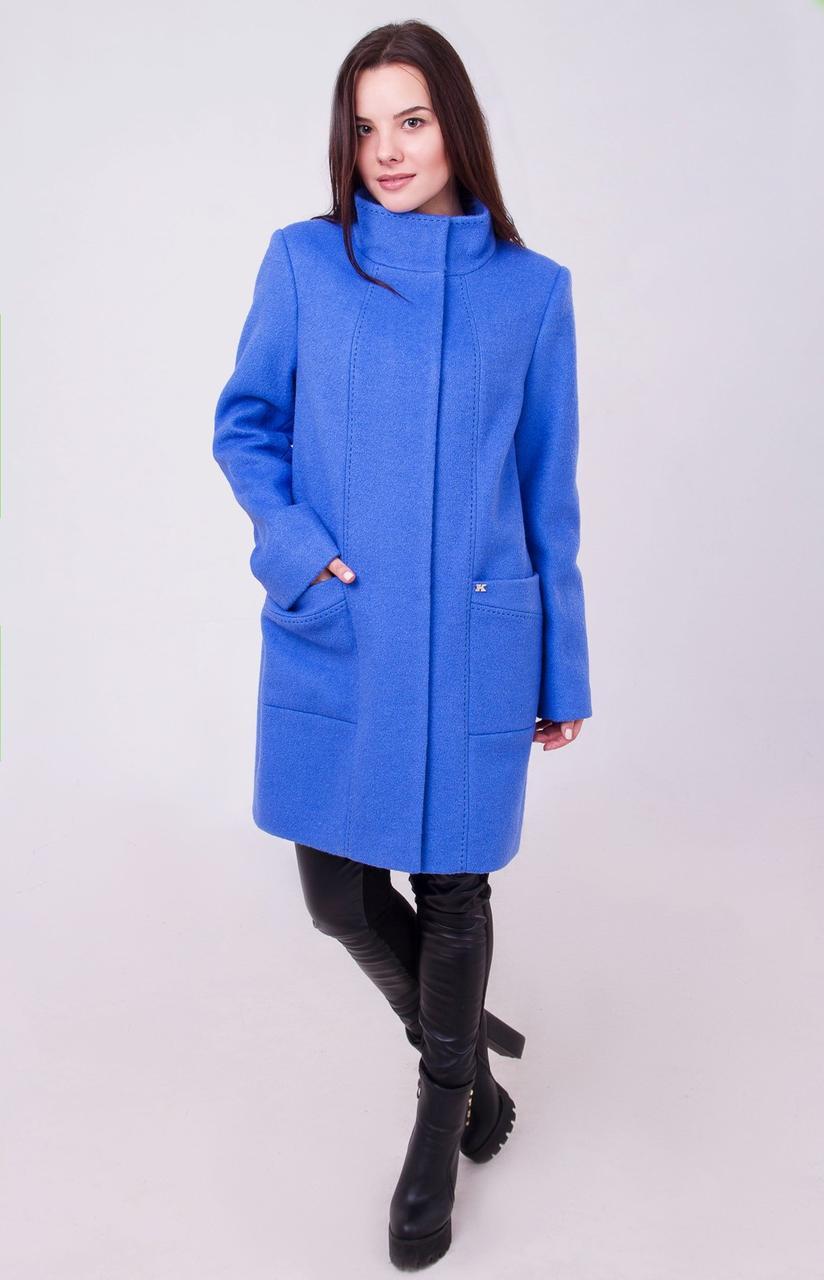 318ff9b531a Элегантное пальто прямого кроя - Eliza - Интернет магазин одежды в Харькове
