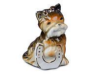 Фигурка декоративная Йоркширский Терьер керамическая 7 см серия Собаки 149-349