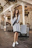 Платье французский трикотаж 3034 норма  Алк