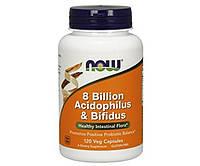 8 Billion Acidophilus Bifidus 120 veg caps