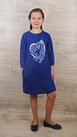 Платье детское(капитон)  на рост от 128 см до 152 см