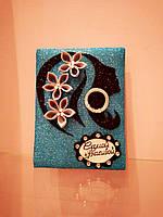 Поздравительная  открытка для девушки