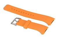 Силиконовый ремешок для часов Samsung Gear S2 Sports SM-R720 / SM-R730 Orange