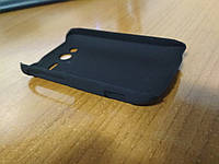 Чехол пластиковый ROCK Colorful back cover for HTC Wildfire S A510e G13, black