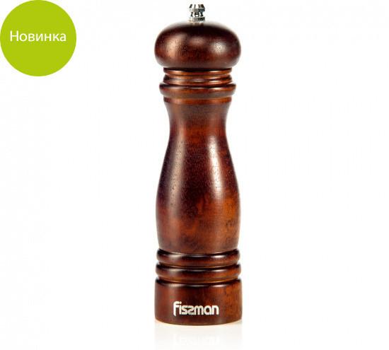 Мельница 20х6см бамбуковая для перца Fissman