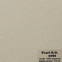 Рулонные шторы Одесса Ткань Pearl блэк-аут Бежевый 2082