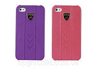 Чехол для iPhone 4/4S - Lamborghini Performate D1 leather back cover