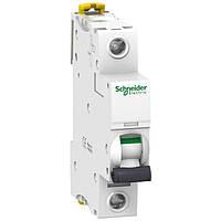 Автоматичний вимикач 04А 6кА Schneider Electric Acti9 iK60N 1p 04А С (A9K24104)