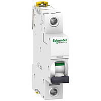 Автоматичний вимикач модульний 1p 32А 6кА х-ка C, Schneider Electric Acti9 iK60N 1p 32А C (A9K24132)