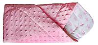 Детский плюшевый плед 75х100 см хлопок и плюш
