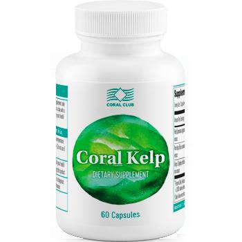 """Бурая водоросль(Ламинария)""""Корал Келп """"-для работы щитовидной железы (60,Коралловый клуб)"""