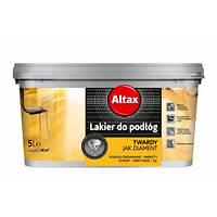 Лак для пола (Altax) 2,5 л. с аппликатором Коричневый полуматовой