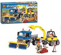 Конструктор Bela серия Urban 10651 Уборочная техника (аналог Lego City 60152)