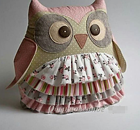 Подушка іграшка - Совушка і совеня, фото 4