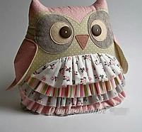 Подушка игрушка - Совушка  хозяюшка, фото 2