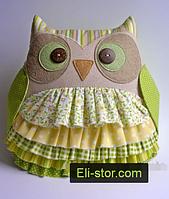 Подушка іграшка - Совушка і совеня, фото 3