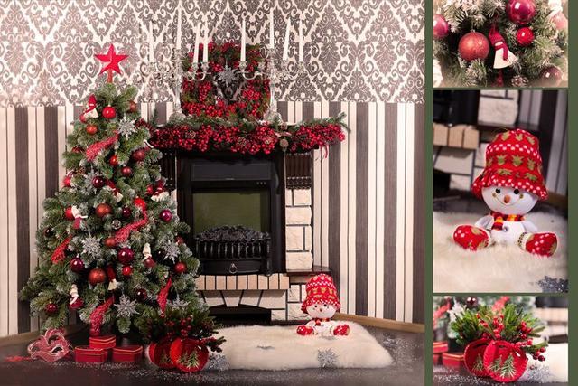 Новогоднее украшение для дома
