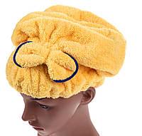 Полотенце - шапка для масок, солярия, бани, сушки,на резинке