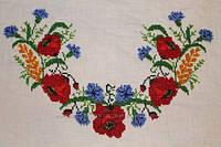 Вишиванка жіноча: Польові квіти бісер