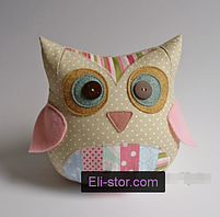 Подушка іграшка - Совушка і совеня, фото 2