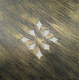 Пуф кованый 3 большой, черный с золотой тонировкой, фото 8