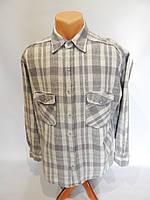 Мужская теплая рубашка  дл.рукав Camp David  015Pт р.48