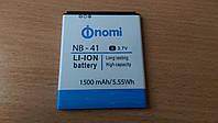 Аккумулятор NB-41 для Nomi i400 Beat, новые оригинал