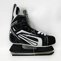 Хоккейные коньки Inter Fun (Интерфан) размеры 39,40,41,42,43,44, 45