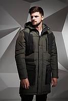 Куртка зимняя, парка, мужская, зима - 15 градусов