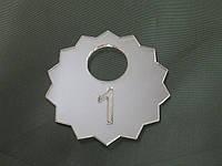 Номерок для гардероба звезда, фото 1