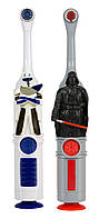 Зубная щетка электрическая автоматическая Дарт Вейдер Звездные войны на батарейках, фото 1