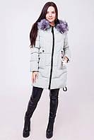 Зимняя удлиненная куртка декорированы аксессуаром-игрушкой «dogtoy»