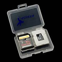 Футляр для карт памяти SD и MicroSD