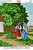 Схема для вышивки бисером 36*27см Український пейзаж БА3-291 Вишиванка