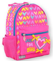 Рюкзак детский K-16 Hearts, 21*16.5*14