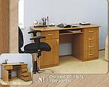 Стол письменный СП-1 №16 (Континент) 1500х600х760мм, фото 2