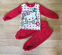 Костюм байковый для девочки с Hello Kitty (2 года)
