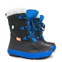 Зимняя обувь Demar Billy синие, последний размер 20/21 (14 см по стельке )