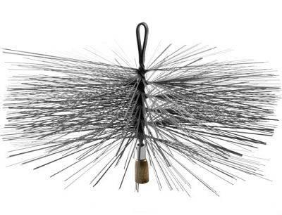 Щетка для чистки дымохода ф180 сталь, фото 2