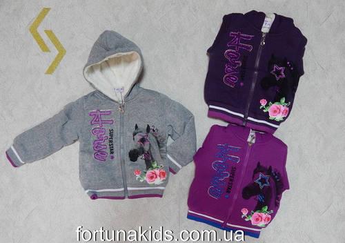 Трикотажная  пайта на меху для девочек TAURUS 1-5 лет