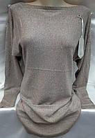 Туника с люрексом женская полубатальная, фото 1